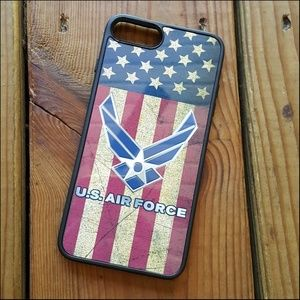 Accessories - Iphone 8 plus U.S. Flag Airforce Cell Phone Case
